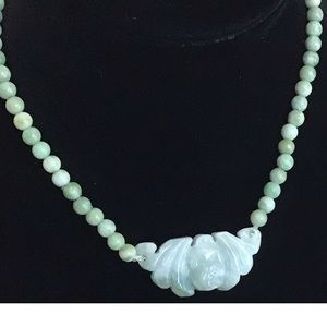 "Creations 17"" Jade Necklace NWT"
